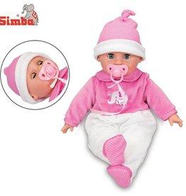 Simba toys Poupée Laura - L'heure du coucher 38cm