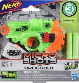 Hasbro Nerf Micro Shots Blasters - Crosscut
