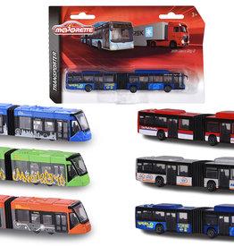 Majorette Autobus de ville assortie