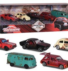 Majorette Majorette- Ens de 5 voitures  Rusty