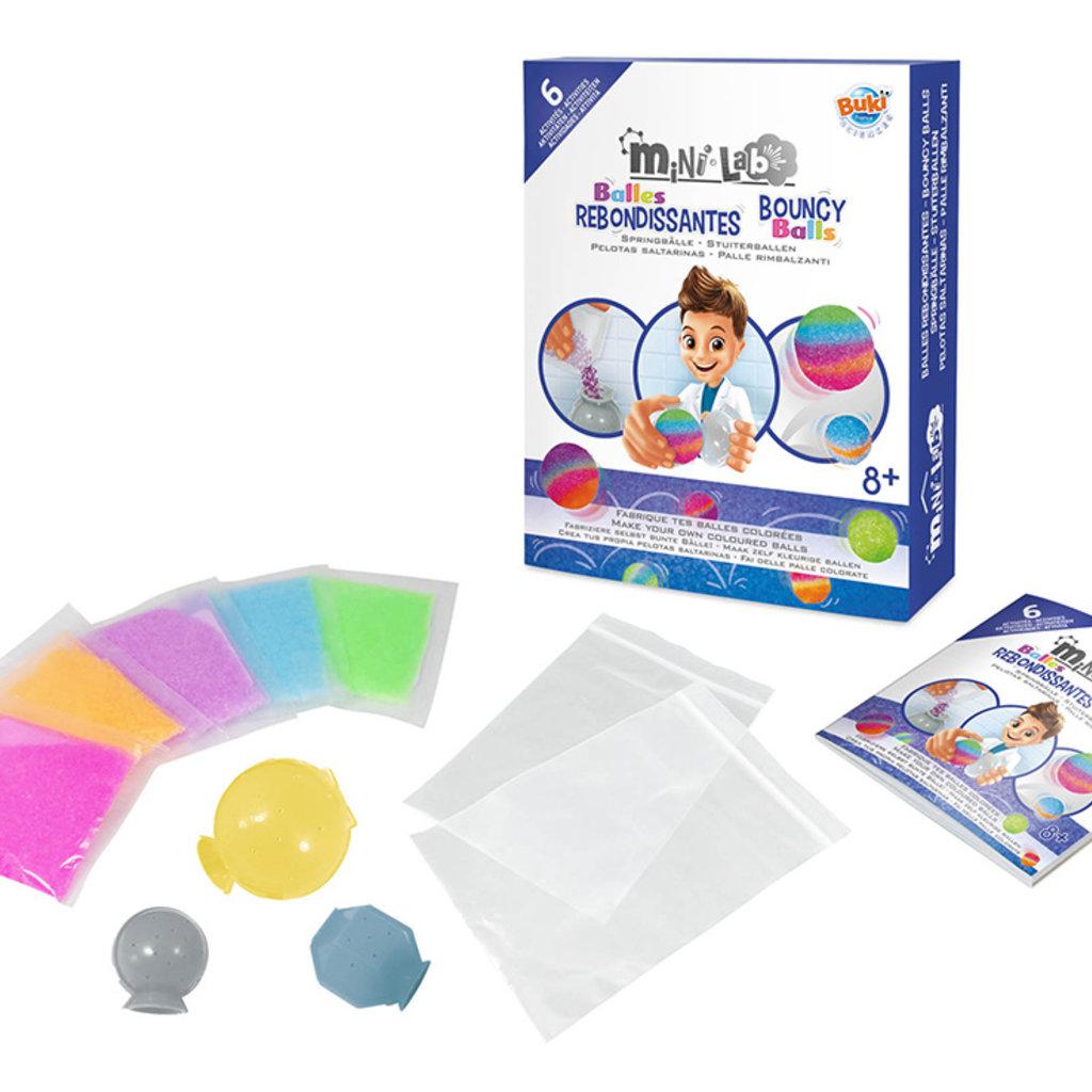 Buki Mini Lab - Balles rebondissantes