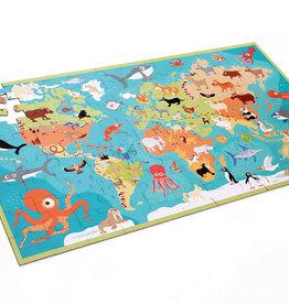 Scratch Casse-tête XXL Animaux du Monde 100 pièces