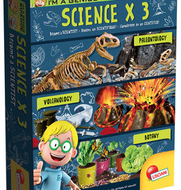 Lisciani Coffret Scientifique x 3 Version bilingue