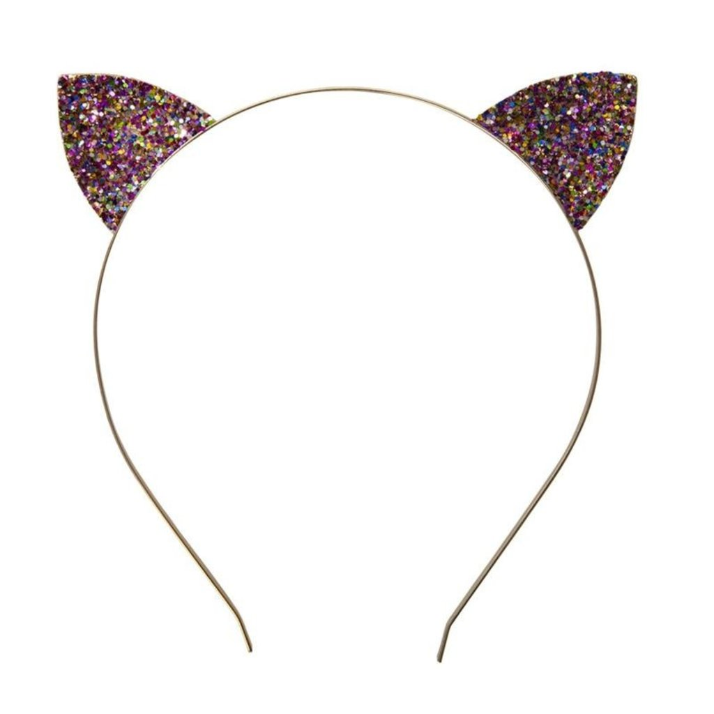 Great Pretenders Bandeau pailletés oreilles  de chat