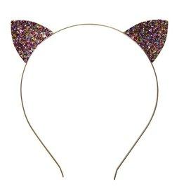 Great Pretenders Bandeau pailletés oreilles  de chat