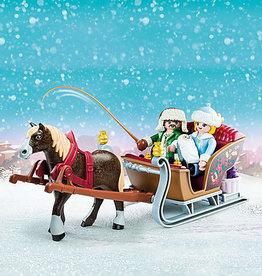 Playmobil Calèche d'hiver