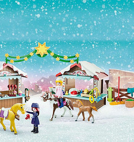 Playmobil Marché de Noël à Miradero