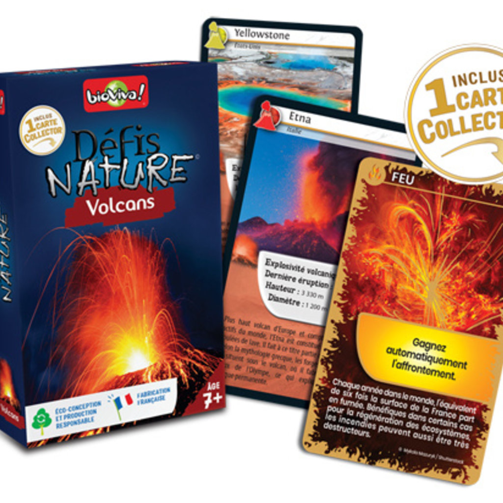 Bioviva Défis Nature - Volcans