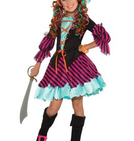 Rubie's Costume pirate fille 3-4 ans