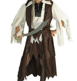 Rubie's Costume  de reine pirate des Caraïbes 3-4 ans