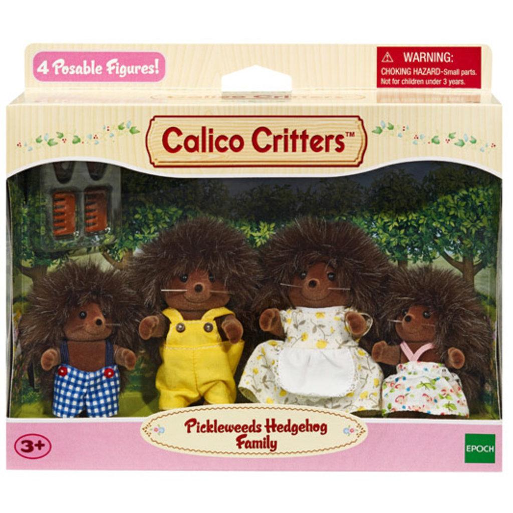 Calico Critters La  Famille  Hérisson