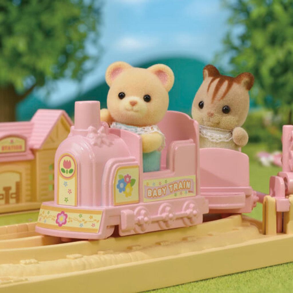 Calico Critters Train des bébé choo-choo