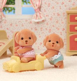 Calico Critters Les jumeaux Caniche