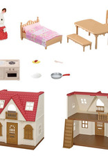 Calico Critters Chalet toit rouge