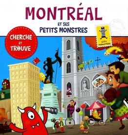 City monster books Montréal et ses petits monstres : cherche et trouve