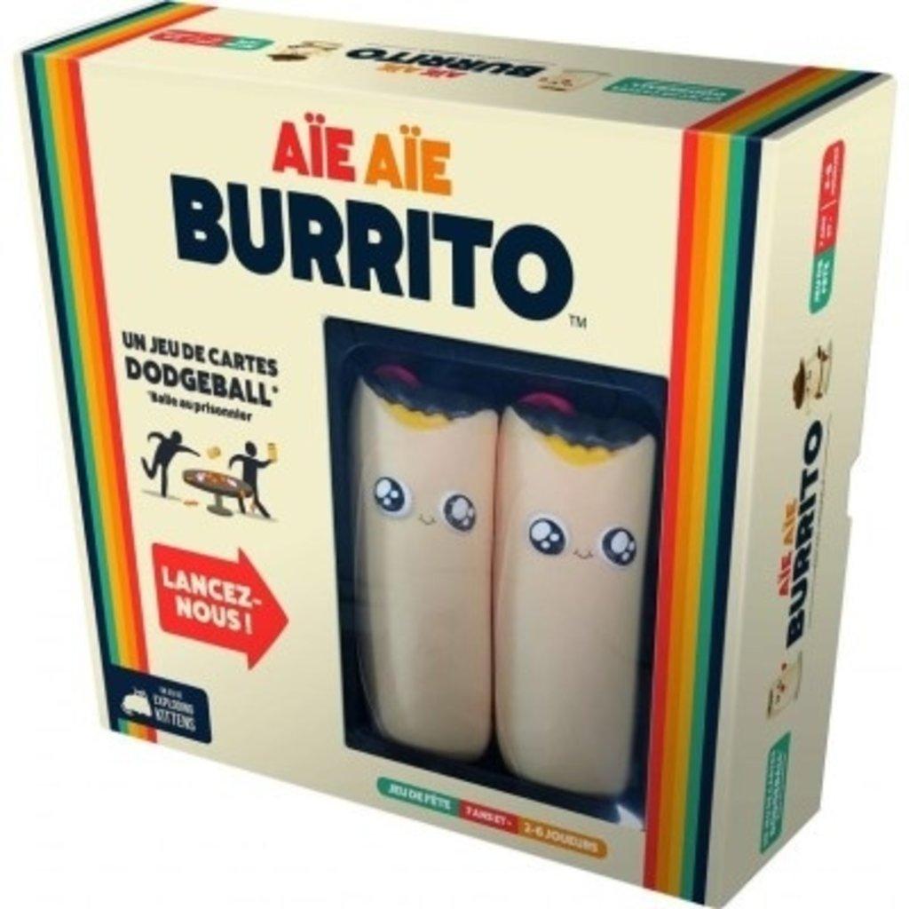 Exploding Kitten Aïe Aïe Burrito