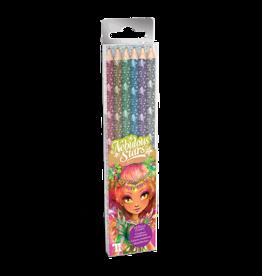 Nebulous Stars Crayons couleuren bois métallique
