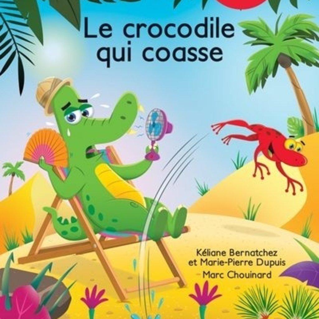 DOMINIQUE & CIE À pas de loup - Le crocodile qui coasse