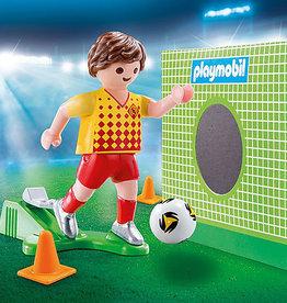 Playmobil 70157 Spécial plus - Joueur de foot  et but