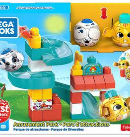 Mega Bloks First Builders - Ensemble Parc d'attractions 35 pcs
