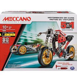 "Meccano 5 en 1 Moto de course ""Street Fighter"""