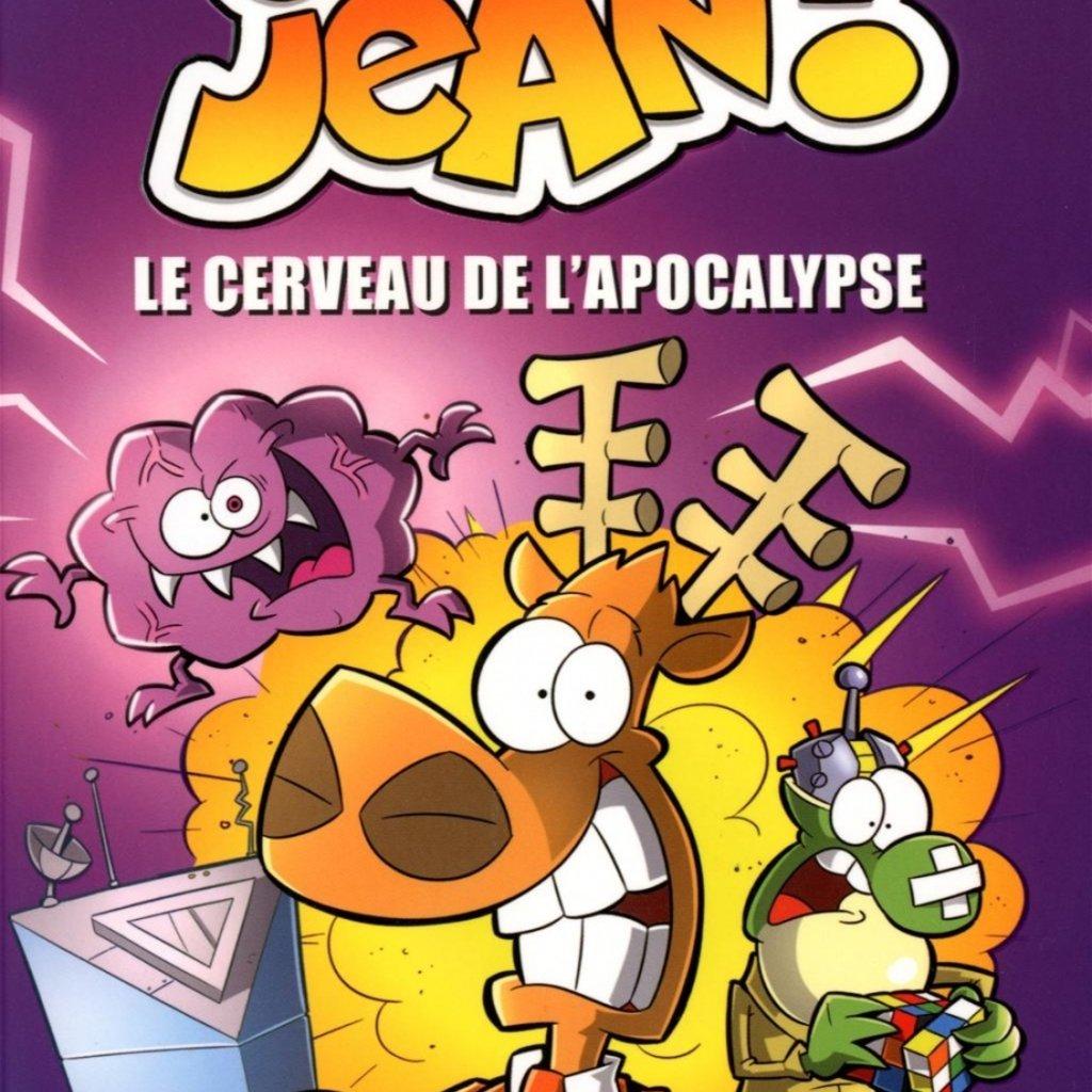 PRESSES AVENTURE L'agent Jean! T.1 : Le cerveau de l'apocalypse