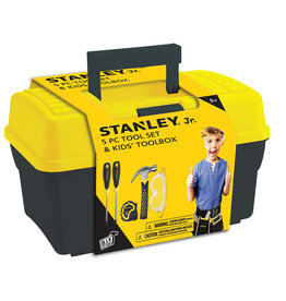 Stanley Jr - Ensemble Coffre et 5 outils