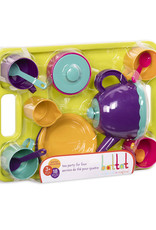 Battat Toys - Ensemble de thé pour 4, 18 pièces