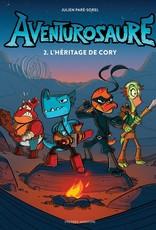 PRESSES AVENTURE Aventurosaure-2 L'héritage de Cory