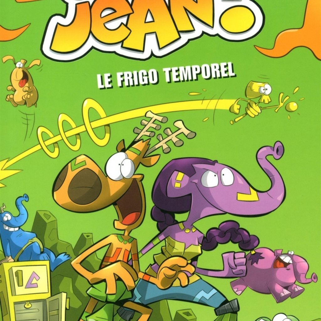 PRESSES AVENTURE L'agent Jean! saison 1 T.5 : Le frigo temporel