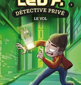 PETIT HOMME Léo P., détective privé T.3 : Le vol
