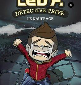 PETIT HOMME Léo P., détective privé T.6 : Le naufrage