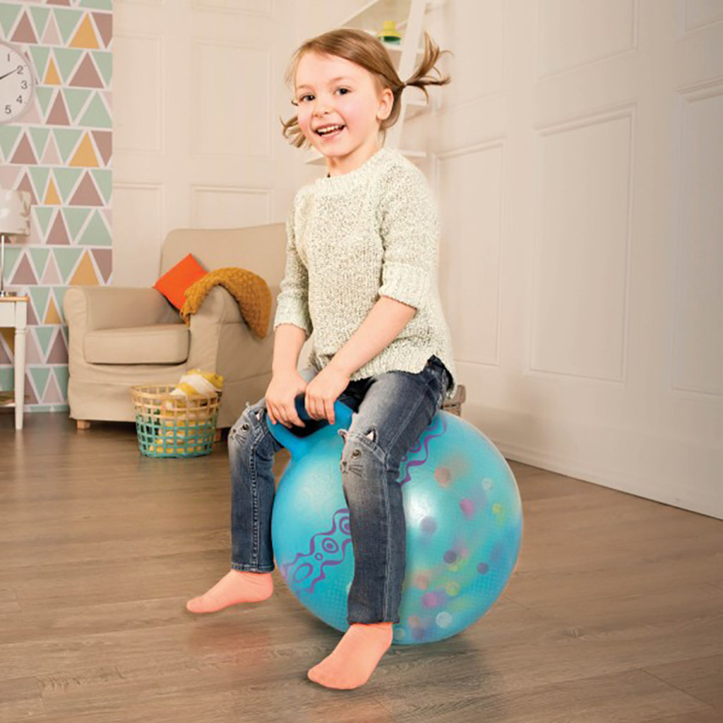 B. B. Active - B. Brand Ballon sauteur Hop n'Glow bleu