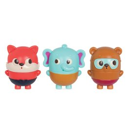 B. Land of B. - Squish & Splash Animal bath squirts - Elephant, bear, fox