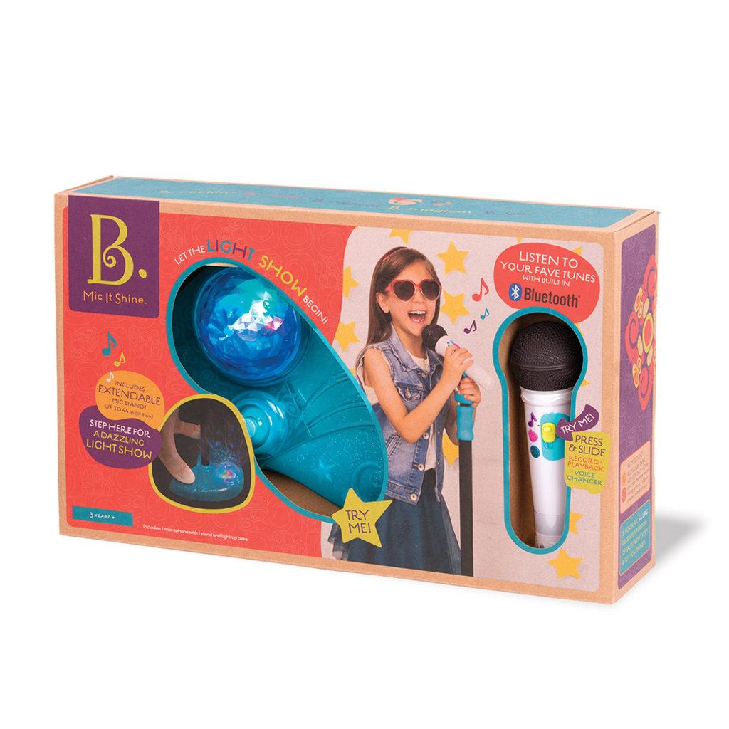 B. B. Musical - Micro sur pied Mic It Shine