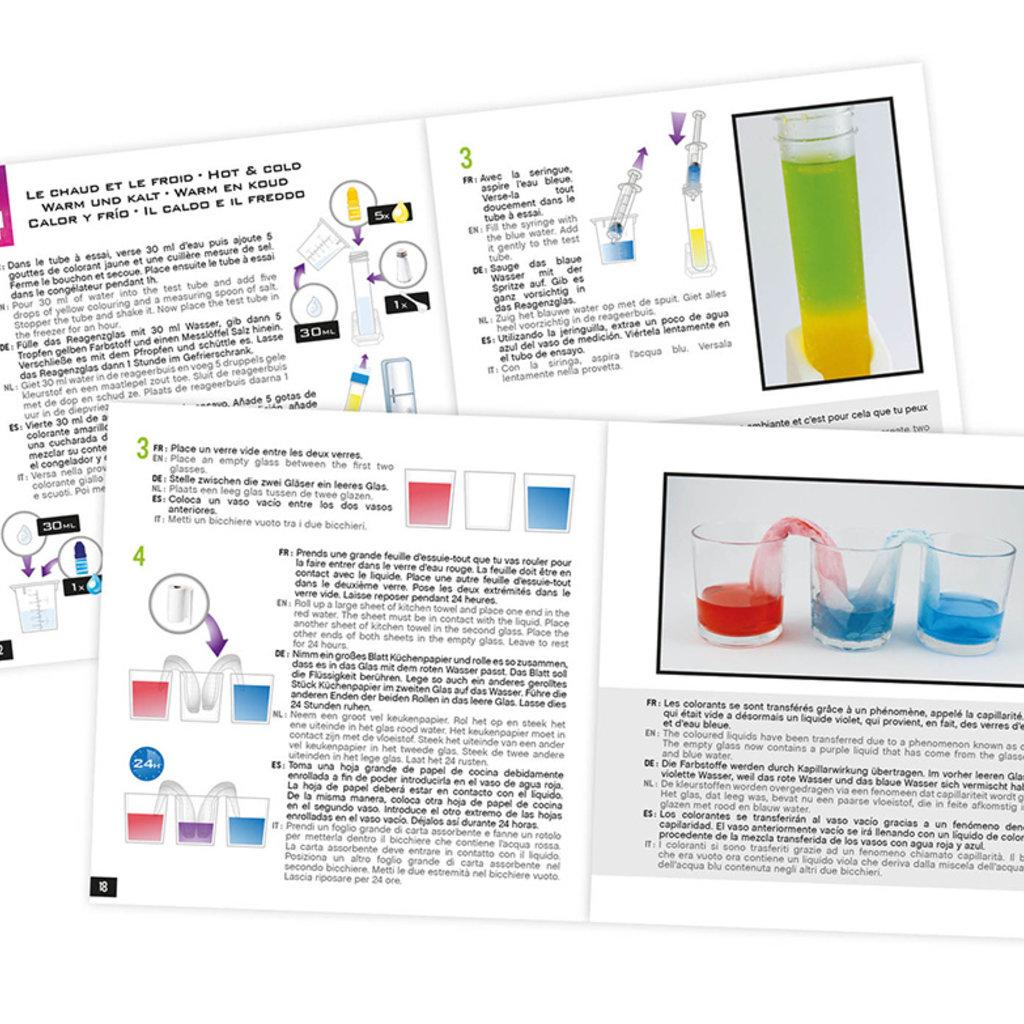 Buki Mini Lab- chimie des couleurs