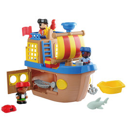 Playgo Happy Collection - Bateau de pirate