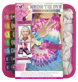 Fashion Angels - Neon Tie Dye- Ens. mode de luxe