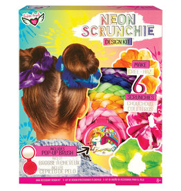 Fashion Angels -Neon Tie Dye-Création chouchous chx