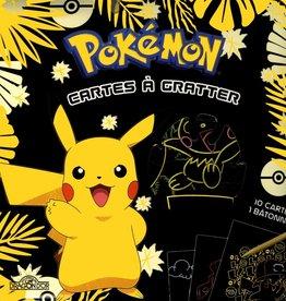 LES LIVRES DU DRAGON D'OR Pokémon : cartes à gratter : 100 % Pikachu