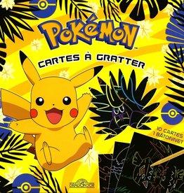 LES LIVRES DU DRAGON D'OR Pokemon : Mes cartes à gratter : Pikachu et ses amis