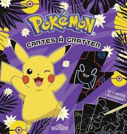 LES LIVRES DU DRAGON D'OR Pokémon : cartes à gratter : Pikachu à Alola
