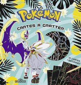 LES LIVRES DU DRAGON D'OR Pokémon : mes cartes à gratter