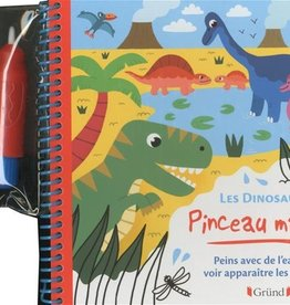 GRUND Pinceau magique: Les dinosaures