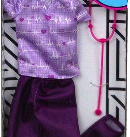 Mattel Barbie - Vêtements carrière Toilettage