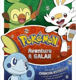 LES LIVRES DU DRAGON D'OR Pokémon livre collector -Une aventure à Galar cherche et trouve avec jeux et stickers