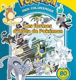 LES LIVRES DU DRAGON D'OR Pokémon, mes coloriages : les formes d'Alola de Pokémon