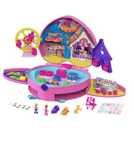 Mattel Polly Pocket  sac à dos Tiny Mighty theme park