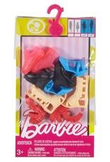 Mattel Barbie - Chaussures ajustées à la mode assorties