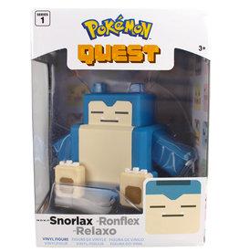 "Incredible novelties Pokemon Quest Snorlax Figurine 4"""